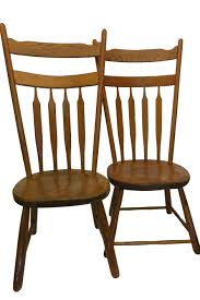 Pair Of Antique Arrow Back Primitive Chairs In 2019 | Ladder ...