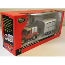 100 Toy Farm Trucks And Trailers Britains 132 Scale Land Rover Livestock Trailer Set