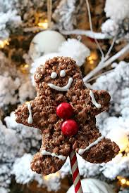 Rice Krispie Christmas Tree Pops by Chocolate Rice Krispie Gingerbread Men Pops Clean And Scentsible