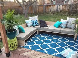 Better Homes And Gardens Patio Furniture Cushions by Remodelaholic Outdoor Sectional Sofa Reveal