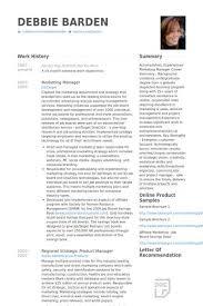 National Sales Manager Resume Samples Visualcv Database