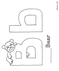 Trendy Free Printable Alphabet Coloring Pages Kids Letter With Throughout