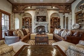 Jonas Brothers Texas Home Stunning Rustic Living Room
