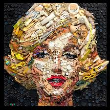 Classically Trained Assemblage Artist Kirkland Smith Uses Both Recycled Materials And Traditional Mediums To Create Engaging Portraits Figures