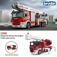 Bruder Scania R-Series Fire Engine With... - Bruder Toys In ... Jual Produk Bruder Terbaik Terbaru Lazadacoid Harga Toys 2532 Mercedes Benz Sprinter Fire Engine With Mack Deluxe Toy Truck 1910133829 Man 02771 Jadrem Engine Scania Ab Car Prtrange Fire Truck 1000 Bruder Fire Truck Mack Youtube With Water Pump Cullens Babyland Pyland Mb W Slewing Ladder In The Rain