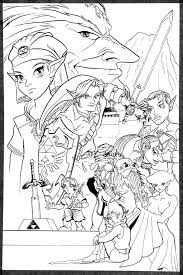 Coloriage Zelda Twilight Princess Inspiration Erfreut Chibi Anime