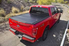 Ford F150 Bed Cover Lock Tri Fold Tonneau Cover Fit 2015 2016 Ford ...