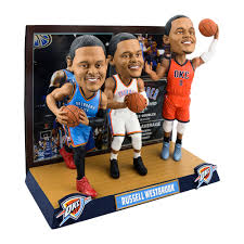 Upper Deck Westbrook Ct Accident by Russell Westbrook Oklahoma City Thunder Triple Threat Bobblehead