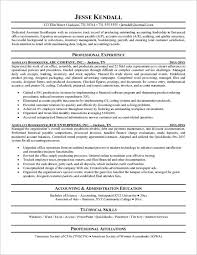 Agreeable Sample Resume For Bookkeeper Accountant Also Examples Templates Free Format