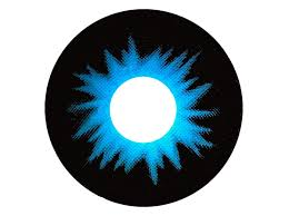 Prescription Halloween Contacts Overnight Shipping by Lunar Eclipse Contacts Black U0026 Blue Sclera Contacts Raze