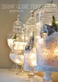 20 décorations de noël à faire avec des accessoires de verre c
