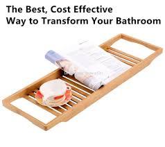Teak Bathtub Caddy Canada by Wooden Bath Caddies Cintinel Com