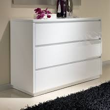 chambre adulte design blanc agréable chambre adulte design moderne 4 commode 3 tiroirs