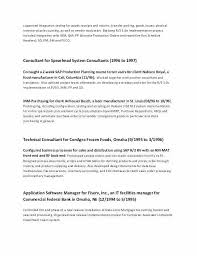 Samples Of Resumes 2017 Best New Good Resume Examples A