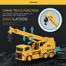 100 Kids Dump Truck US 1349 35 OFFRC Cars Truck Excavator Crane Emulational Engineering Vehicles Building Toy Mixer Model Construction Mini Burrow Funnyin