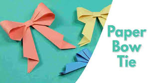 Art For Kids And Easy Origami Peasy Funrheasypeasyandfuncom Paper Bow Tie Simple Craft Idea