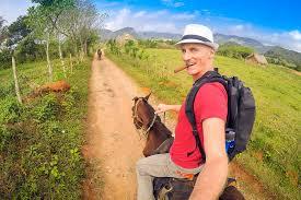 Horseback Riding Through Tobacco Farms