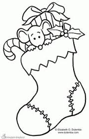 Disney Coloring Pages Christmas Stocking Page