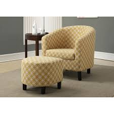 100 Accent Chairs With Arms And Ottoman Hawthorne Ave Burnt Yellow Chair I 8059 Bellacor