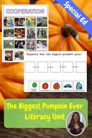The Biggest Pumpkin Ever By Steven Kroll by Writing Center For The Biggest Pumpkin Ever Book Education