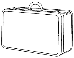 Luggage Clip Art Black And White