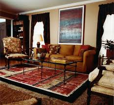 Brown Couch Decorating Ideas by Contemporary Living Room Decor With Brown Sofa And Abstract