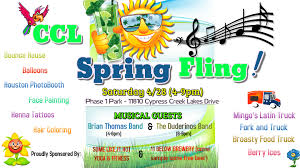 CCL COMMUNITY SPRING FLING EVENT - Saturday 4/28 (4-9pm) | Cypress ... Pappa Charlies Barbecue Reopens In Cypress Eater Houston Sf Food Trucks Print Affordable Art 3 Fish Studios Falacos Roaming Hunger Crywurst Truck Cape Coral Fl Friday Night Bites Lifestyle Magazine 25 Musttry Restaurants In The Area Chronicle Street Tuesday Streetfoodtue Twitter Towne Lake Texas Abu Omar Hal On With Montrose And University Of Hayburner Orlando Menu Tx Craft Burger Knee Little Rock