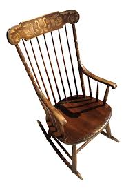 1975 Hitchcock Stenciled Rocking Chair Axel Larsson A Rocking Chair For Bodafors Sweden 1930s Elephant Rocking Chair By Charles Ray Eames Herman Miller Indoor Stock Photos Famous His Sam Maloof Made Fniture That Gomati Woods Pure Teak Wood Luxury Glider Best Gift Grand Parents Woodnatural Polish Lovely Craftsman Period C 1915 Koa Rocker Curly Hand With Inlay 1975 Hitchcock Stenciled Trex Outdoor The Home Depot Thonet Thonets From The Early 1900s Model No1