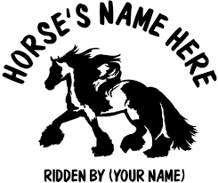 2 X GYPSY HORSE (COB) DECALS - AWESOME GRAPHICS Details About Horse Vinyl Car Sticker Decal Window Laptop Oracal Medieval Knight Jousting Lance Horse Decals Accsories For Car Vinyl Sticker Animal Stickers Made By Stallion Tribal Decal J373 Products Graphics For Trailers I Love My Arabianhorse Vehicle Or Trailer Country Cutie With A Rock N Roll Booty Southern Brand New Carfloat Tack Box 4wd Wall Stickers Wall 23 Decals Laptop Cowgirl And Horse Cartoon Motorcycle Fashion