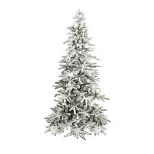 RAZ IMPORTS 75 PRE LIT FLOCKED SLIM TREE WITH OVER 400 LIGHTS OUT OF STOCK