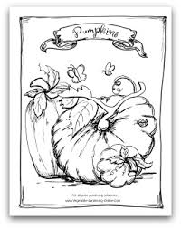 Pumpkin Patch Coloring Pages Printable by Free Vegetable Garden Coloring Books Printable Activity Pages For