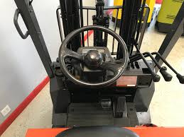 100 T A Truck Stop Ontario California CES 20917 Oyota 7FBCU20 Electric Forklift