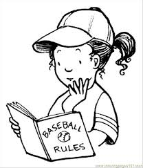 Baseball Activities 2 Jpg Coloring Page