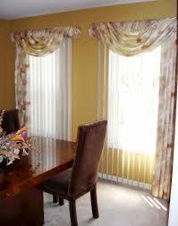 Interior Wonderful Curtains Over Vertical Blinds Ideas Decoriest