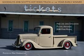 1936 Ford Pickup: Truck Of The Year-Early Winner! - Goodguys Hot News Motoring Your Local Auto Source Vintage Classics And Hot Rods 35 Hot Rod Truck Factory Five Racing Surf Fishing Rods Reels Worldclass Rat At Mats 2018 Tandem Thoughts Ford V8 Rat Pickup Lot Shots Find Of The Week 1941 Chevy Onallcylinders 1930 Modela Model Custom Rod Retro Truck 1950 Chevrolet 3100 Patina Trucks The Drift Our Take On Fives Newest Kit Zs Shop Central Home Facebook 1949 Dodge Street Lost Found Classic Car Co