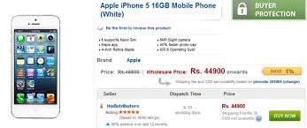 iPhone 5 Lowest Price in India Rs 44 900 at Tradus