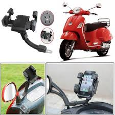 Capeshoppers Universal Mount Holder For All Mobile Phones PDA Vespa Scooty