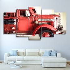 Canvas Wall Art Pictures Frame Kitchen Restaurant Decor 5 Pieces ... Bju Fire Truck Room Decor For Timothysnyderbloodlandscom Triptych Red Vintage Fire Truck 54x24 Original Bold Design Wall Art Canvas Pottery Barn 2017 Latest Bedroom Interior Paint Colors Www Coma Frique Studio 119be7d1776b Tonka Collection Decal Shop Fathead For Twin Bed Decals Toddler Vintage Fireman Home Firefighter Nursery Decorations Ideas Print Printable Limited Edition Firetruck 5pcs Pating