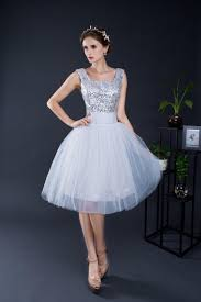compare prices on short silver bridesmaid dresses online shopping