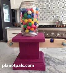 Planetpals Recycle Bubble Gum Machine Craft Project
