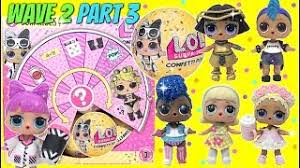 Full Box Of NEW LOL SURPRISE DOLLS Confetti POP Series 3 Wave 2 Part With