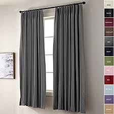 Eclipse Curtains Thermaback Vs Thermaweave by Amazon Com Eclipse Thermal Blackout Patio Door Curtain Panel 100