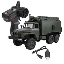 100 Military Truck WPL B 36 116 Scale 24G Remote Control RC 6WD Model