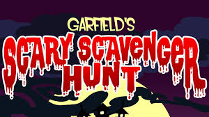 Garfields Halloween Adventure Book by Main Theme Garfield U0027s Scary Scavenger Hunt Youtube