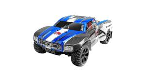 100 Short Course Truck 110 Blackout SC 4WD Brushed RTR Blue HorizonHobby