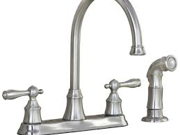 sink faucet brushed nickel lowes kitchen faucets with double
