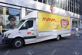 New York City, NY - July 12, 2016: Frito Lay Potato Chip Truck ... The Rest Of My Life Chip Truck 11 Rachels Chips And Cones Blue At City Hall Blogto Toronto Northern Policy Institute Success Story Ye Olde Bud The Spud Chip Truck Wikipedia We Buy Sell Trucks Dump Trucks Chip Trucks File55 Gmc Auto Classique Les Cdres 14jpg Review Chunk N Lunch
