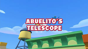 Abuelito's Telescope | Disney Wiki | FANDOM Powered By Wikia Life As We Know It July 2011 Skipton Faux Marble Console Table Watch Handy Manny Tv Show Disney Junior On Disneynow Video Game Vsmile Vtech Mayor Pugh Blames Press For Baltimores Perception Problem Vintage Industrial Storage Desk 9998 100 Compl Repair Shop Dancing Sing Talking Tool Box Complete With 7 Tools Et Ses Outils Disyplanet Doc Mcstuffns Tv Learn Cookng For Kds Flavors Of How Price In India Buy Online At Tag Activity Storybook Mannys Motorcycle Adventure Use Your Reader To Bring This Story Dan Finds His Bakugan Drago By Leapfrog
