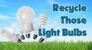 to recycle light bulbs