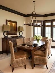 Inspiring Idea Dining Room Paint Colors Dark Wood Trim 17 Best Ideas About On Pinterest Home